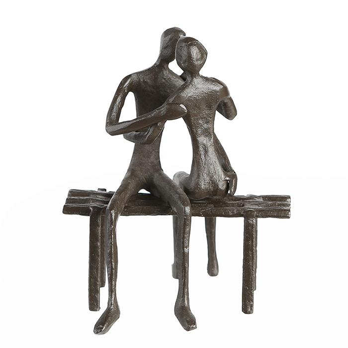 Figurina FAVOURITE PLACE, metal, 13x11X10 cm 1
