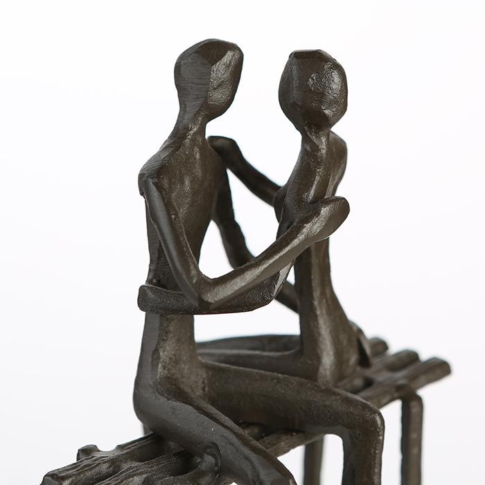 Figurina FAVOURITE PLACE, metal, 13x11X10 cm 6