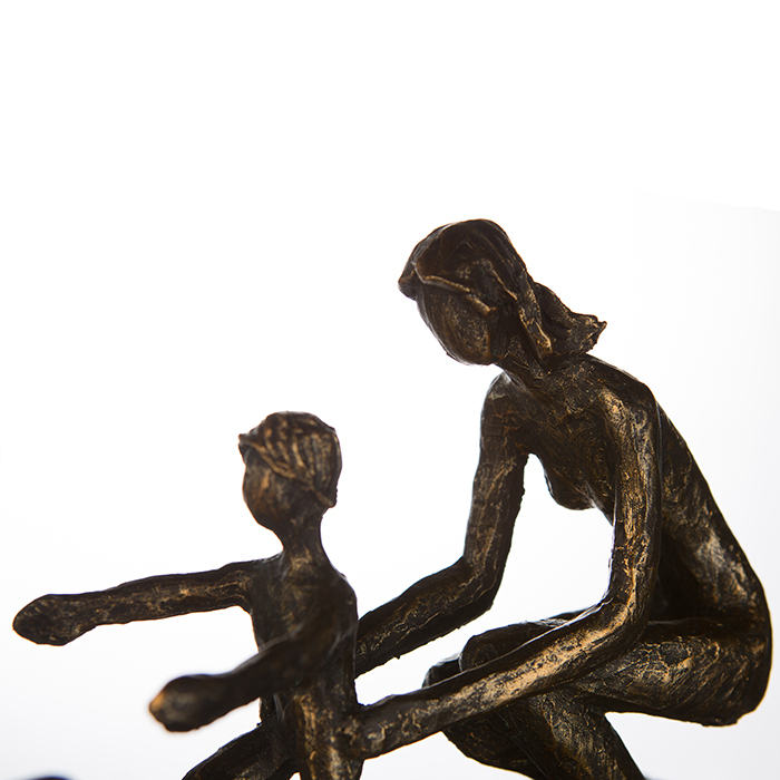 Figurina FIRST STEPS, rasina, 34X18X9 cm 1