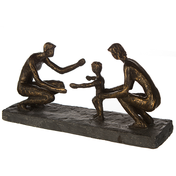 Figurina FIRST STEPS, rasina, 34X18X9 cm 3