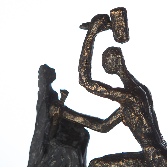 Figurina HEART, rasina, 37X19X9 cm 3