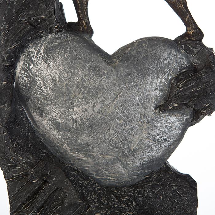 Figurina HEART, rasina, 37X19X9 cm 4