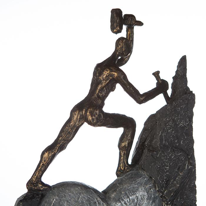 Figurina HEART, rasina, 37X19X9 cm 2