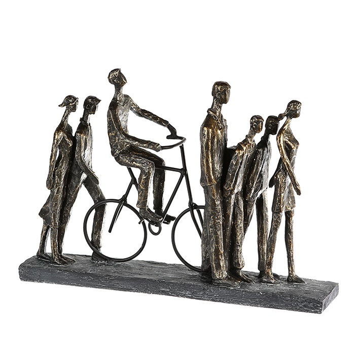 Figurina IN THE CITY, rasina, 42X29X8 cm 0
