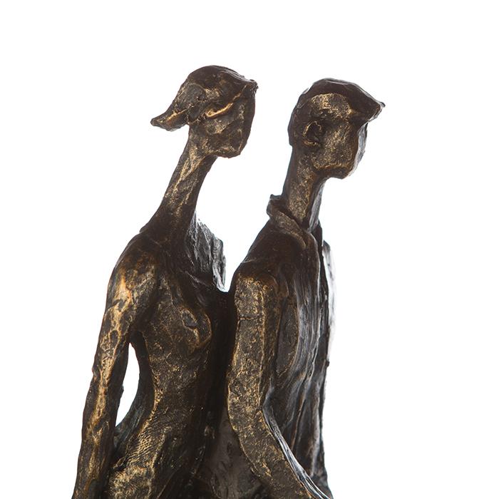 Figurina IN THE CITY, rasina, 42X29X8 cm 3