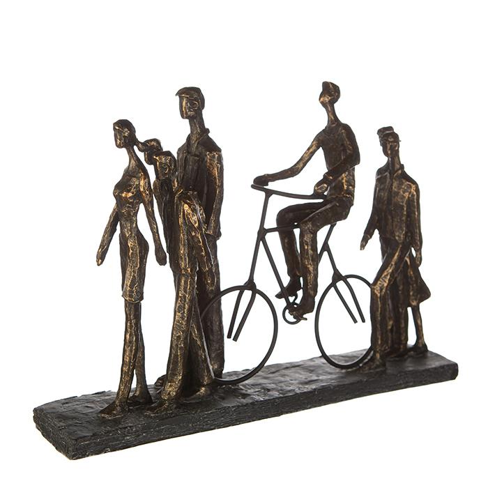 Figurina IN THE CITY, rasina, 42X29X8 cm 1