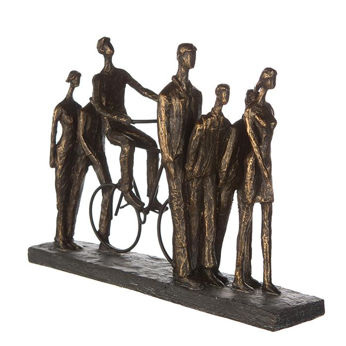 Figurina IN THE CITY, rasina, 42X29X8 cm 2