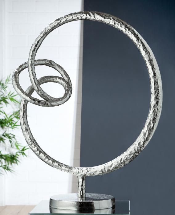 Figurina INFINITY, aluminiu, 53x39 cm [0]