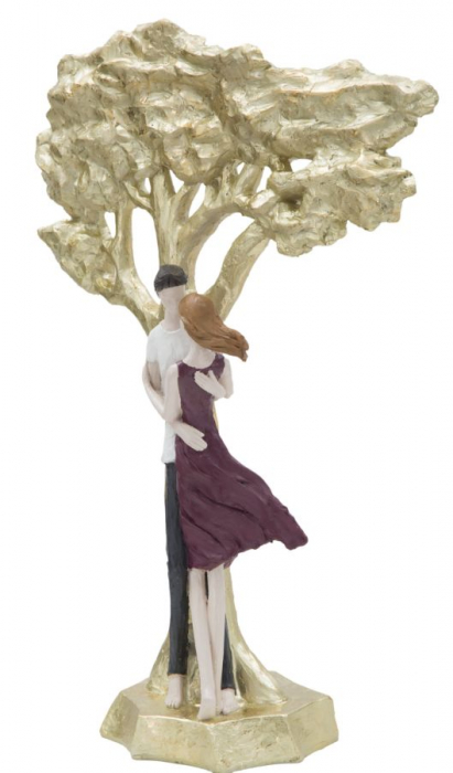 Figurina KISS COPPIA LIFE TREE (cm) 31X13X45 2