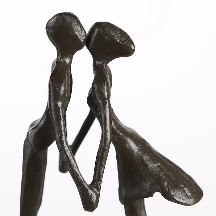 Figurina LOVE, metal, 15x11X6 cm 5