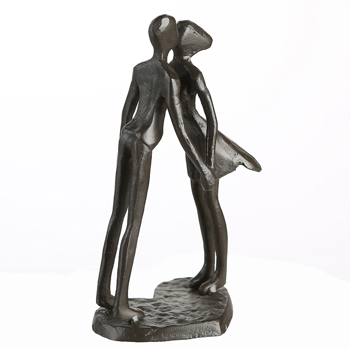 Figurina LOVE, metal, 15x11X6 cm 3