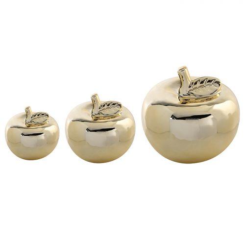 Figurina mar, ceramica, auriu, 9x7 cm lotusland.ro