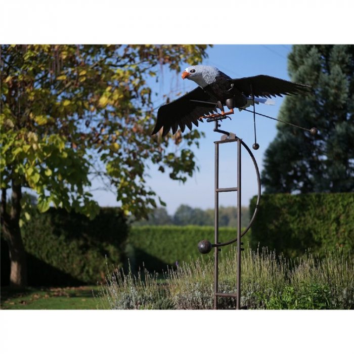 Figurina metal Large eagle, 190x100x166 cm lotusland.ro