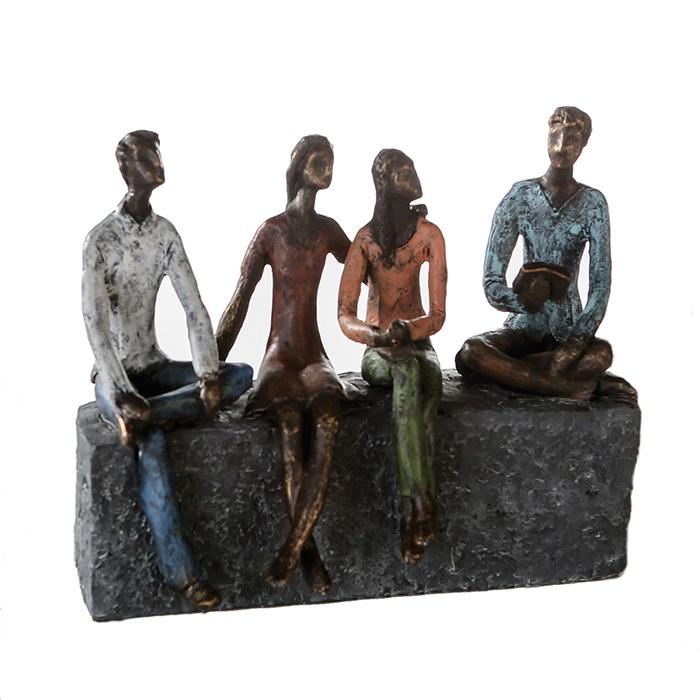 Figurina NETWORK, rasina, 26x21X11 cm 0