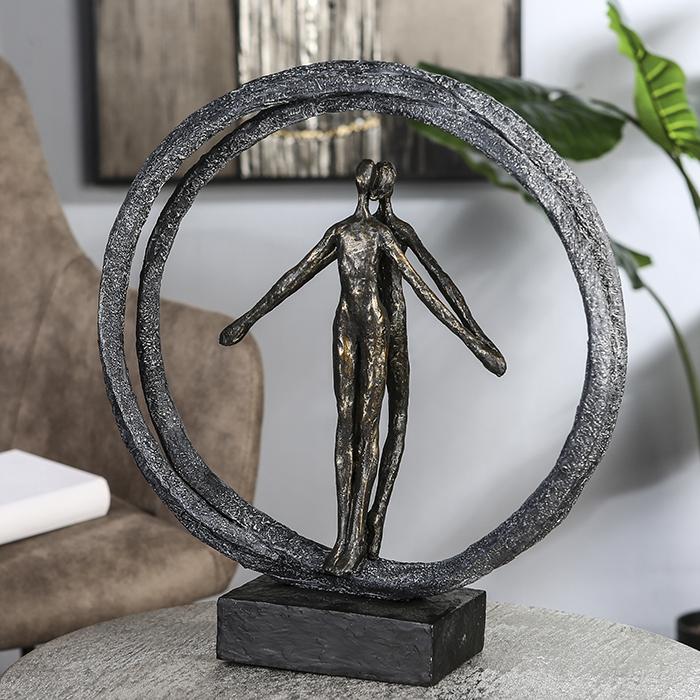 Figurina PAIR, rasina, 40X37X10.5 cm 1