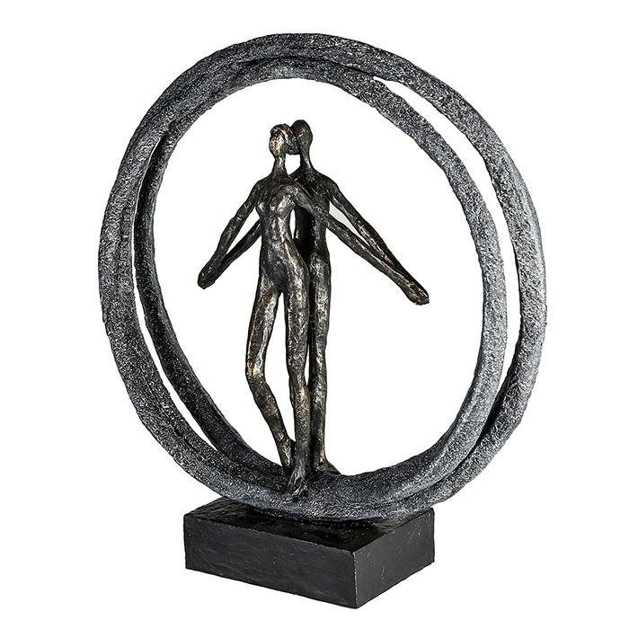 Figurina PAIR, rasina, 40X37X10.5 cm 0