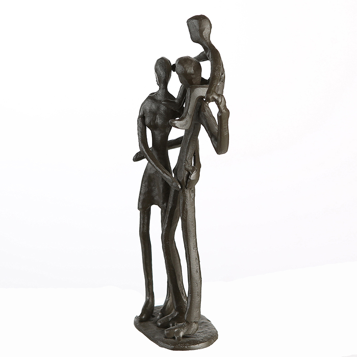 Figurina PARENTS, metal, 19x8X5 cm 3