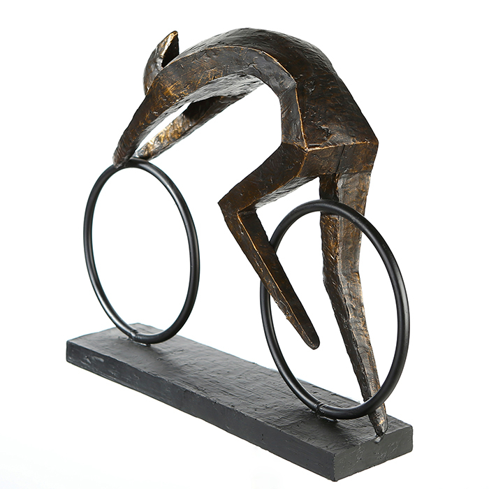 Figurina RACER, rasina, 36X28.5X18 cm 4