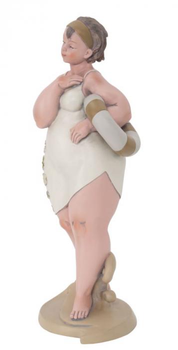 Figurina, rasina, Multicolor, 12.9X10.9X16.2 cm 2