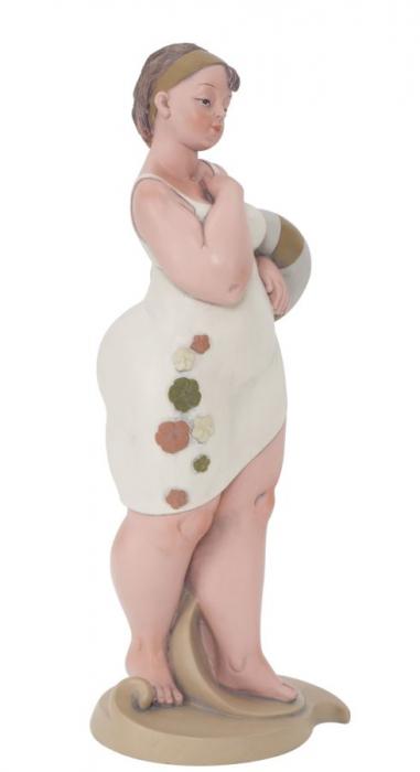 Figurina, rasina, Multicolor, 12.9X10.9X16.2 cm 4
