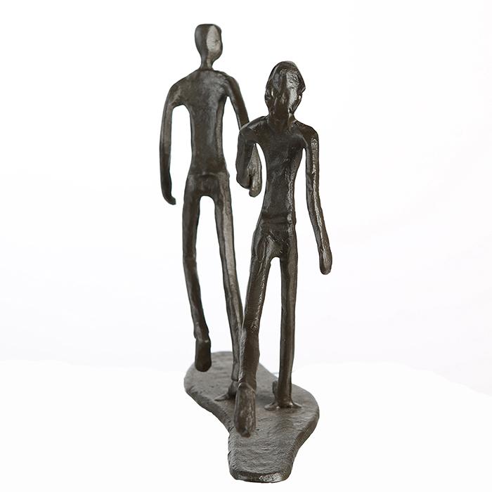 Figurina RUNNING, metal, 18x17X7 cm 5