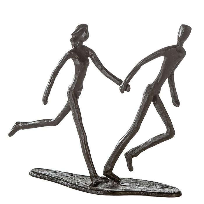 Figurina RUNNING, metal, 18x17X7 cm 0
