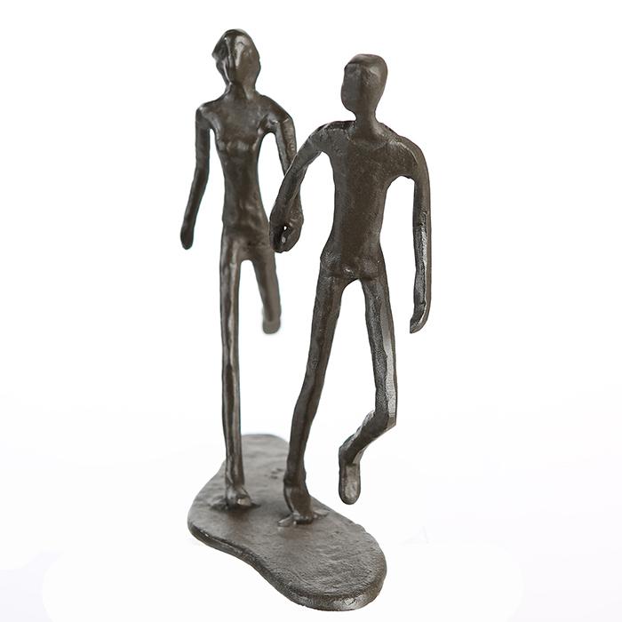 Figurina RUNNING, metal, 18x17X7 cm 4