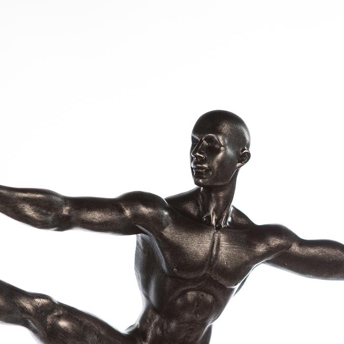 Figurina SPORTSMAN, rasina, 42X34X8 cm 4