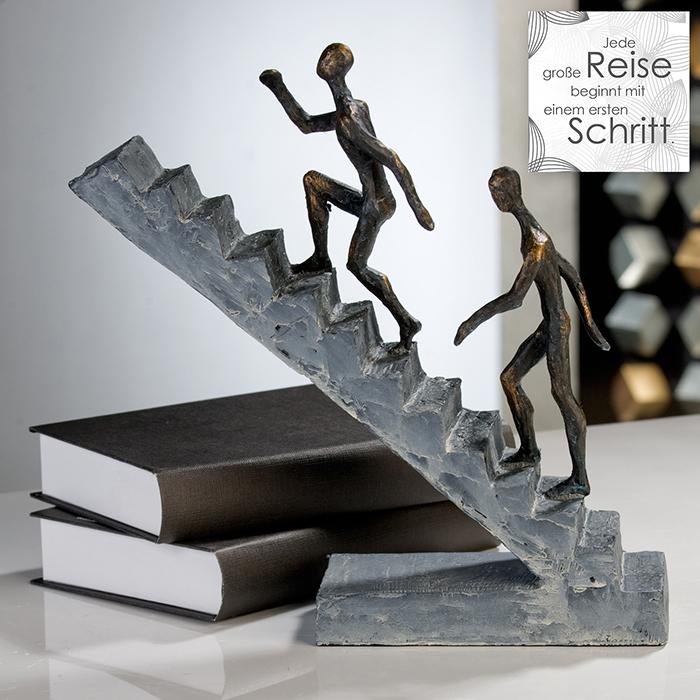 Figurina STAIRCASE, rasina, 28X28X8 cm 1