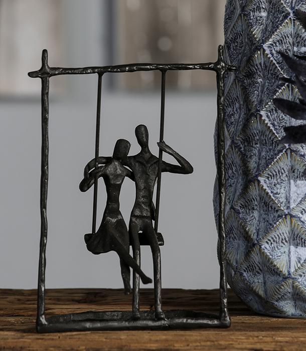 Figurina SWING, metal, 23x17X9 cm 2