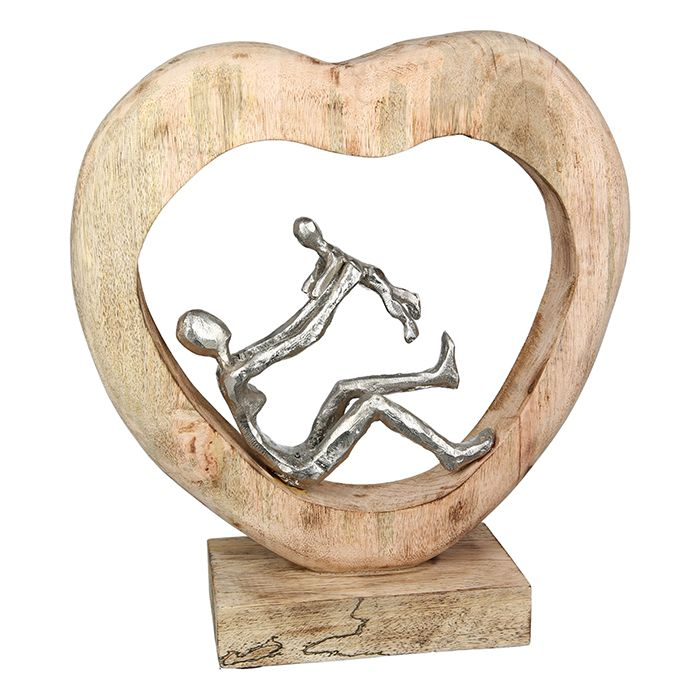 Figurina Child Love mango aluminiu, 37x9x30 cm 2021 lotusland.ro