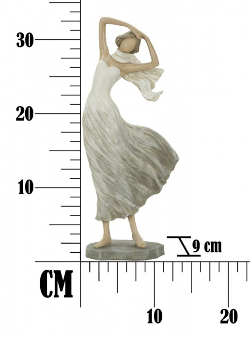 Figurina WOMAN FASHION -B- (cm) 14X9X33,5  6