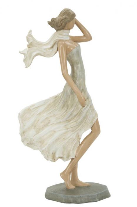 Figurina WOMAN FASHION -C- (cm) 12,5X7X25,5 imagine 2021 lotusland.ro