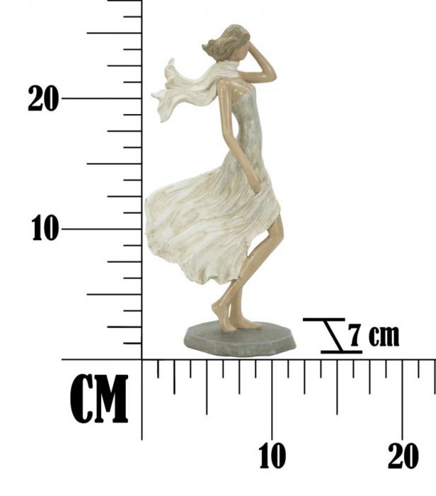 Figurina WOMAN FASHION -C- (cm) 12,5X7X25,5 6