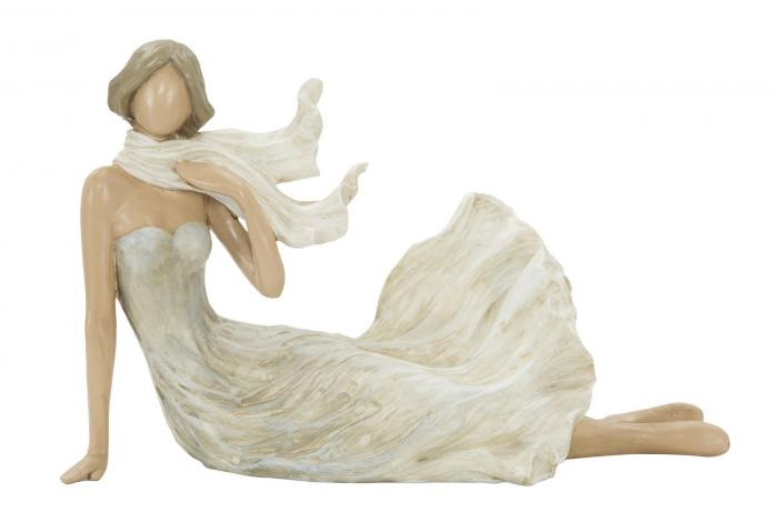 Figurina WOMAN FASHION -D- (cm) 23,5X10X15 imagine 2021 lotusland.ro