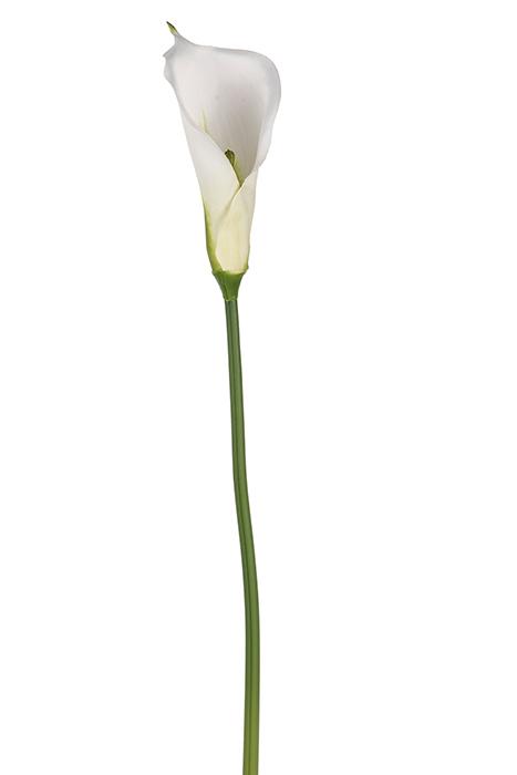 Floare CALLA, fibre sintetice, 74 cm imagine 2021 lotusland.ro