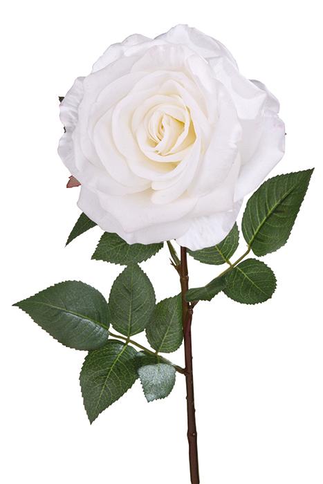 Floare ROSE, fibre sintetice, 81.5 cm, Fink 0