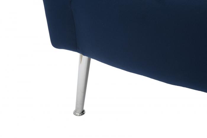 Fotoliu BUCHAREST, albastru, 76X74X73 cm, Mauro Ferretti 7