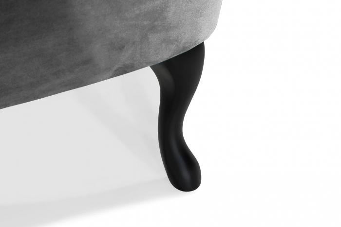 Fotoliu Diana 3H, Gri inchis, 59x84x58 cm 7