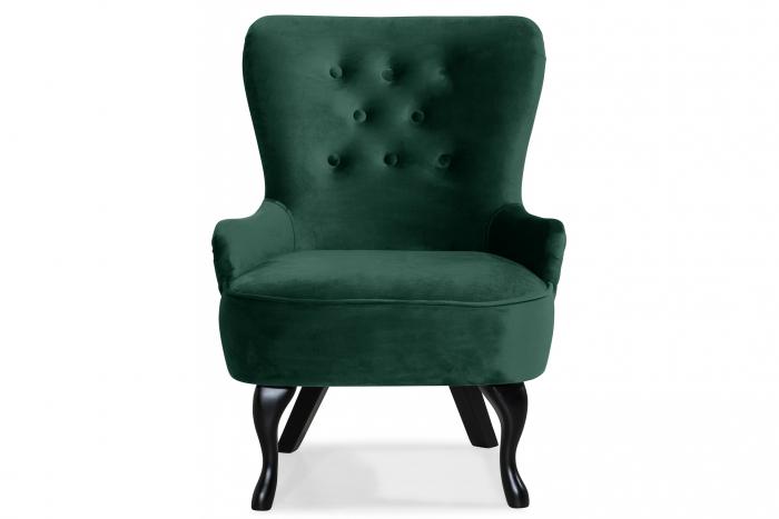 Fotoliu Diana 3H, Verde inchis, 59x84x58 cm 0