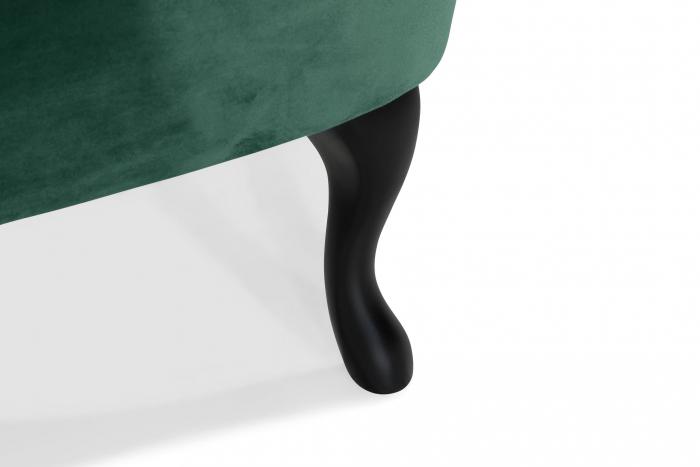 Fotoliu Diana 3H, Verde inchis, 59x84x58 cm 7
