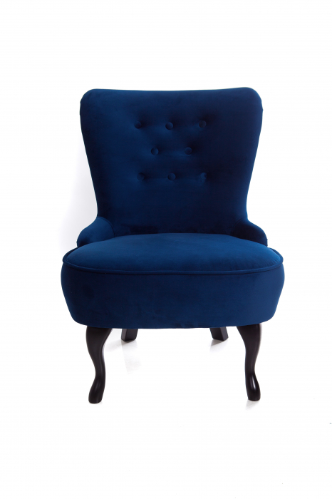 Fotoliu Diana 3L, Albastru, 59x84x58 cm 1