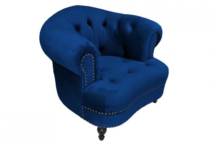 Fotoliu Clara, Albastru, 94x75x96 cm 1