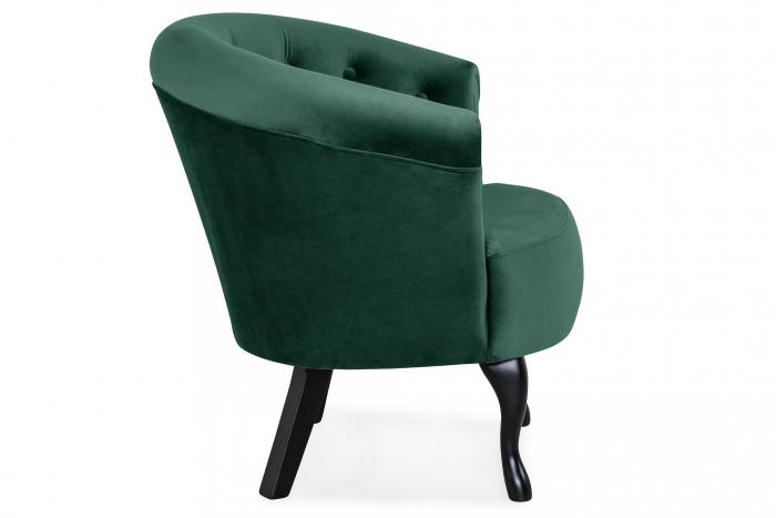 Fotoliu Mada, Verde inchis, 69xx74x65 cm 2