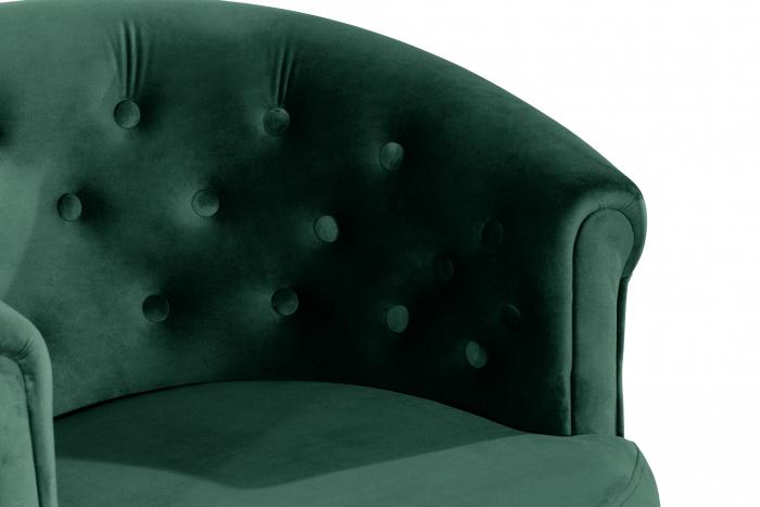 Fotoliu Mada, Verde inchis, 69xx74x65 cm 4