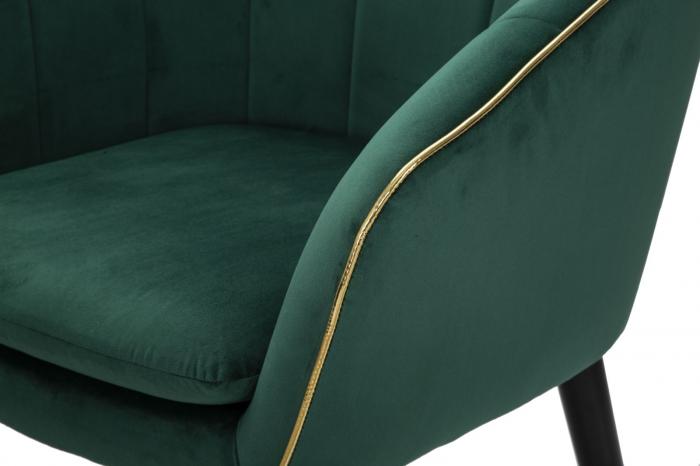 Fotoliu PARIS, verde, 62X58X78 cm, Mauro Ferretti 5