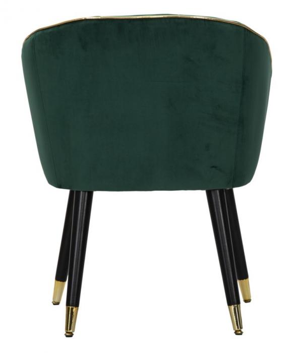 Fotoliu PARIS, verde, 62X58X78 cm, Mauro Ferretti 2
