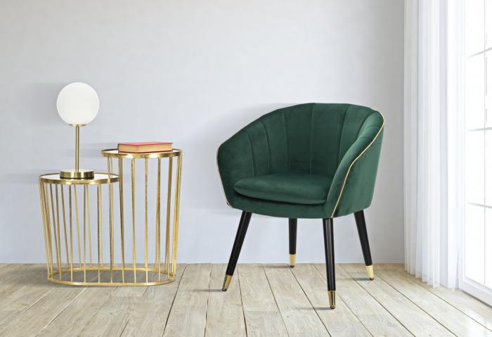 Fotoliu PARIS, verde, 62X58X78 cm, Mauro Ferretti 7