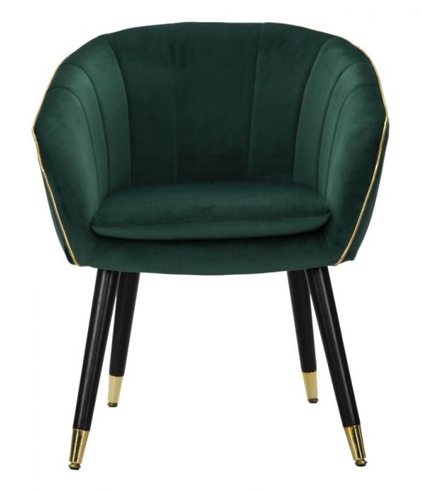 Fotoliu PARIS, verde, 62X58X78 cm, Mauro Ferretti 1