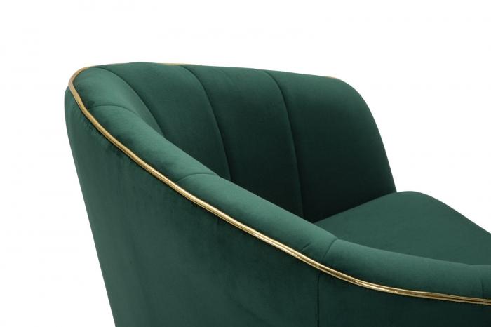Fotoliu PARIS, verde, 62X58X78 cm, Mauro Ferretti 6